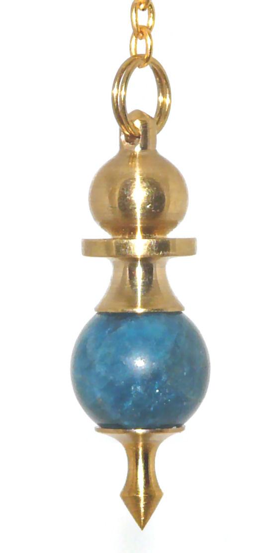 High Energy Dowsing Crystal Pendulum Kyanite AAA, Divining Mind